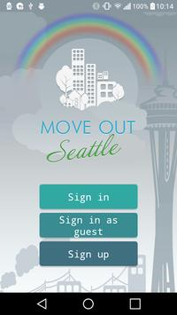 Move Out Seattle poster
