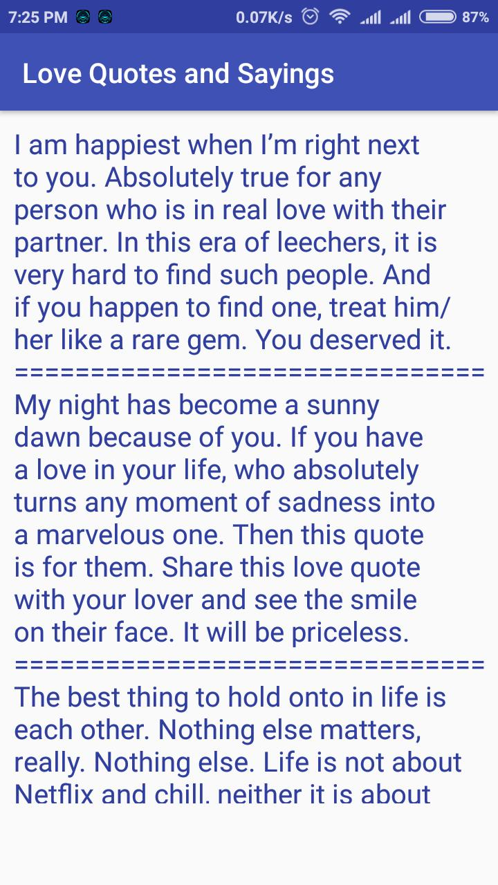Love Sms Quotes For BF GF for Android - APK Download