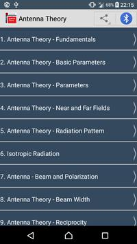 Guide To  Antenna Theory poster