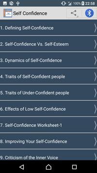 Guide To Self-Confidence poster