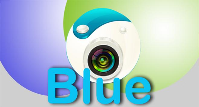 Little Camera 360 Blue apk screenshot