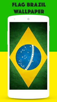 Flag Brazil Wallpaper screenshot 2