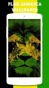 Flag Jamaica Wallpaper apk screenshot