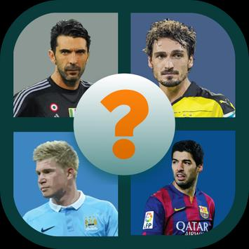 Guess the footbal player poster