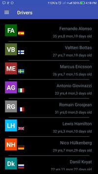 F1 Info apk screenshot