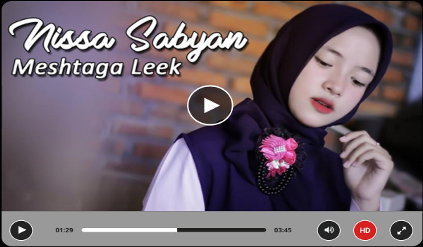 video sholawat merdu nissa sabyan for android - apk download