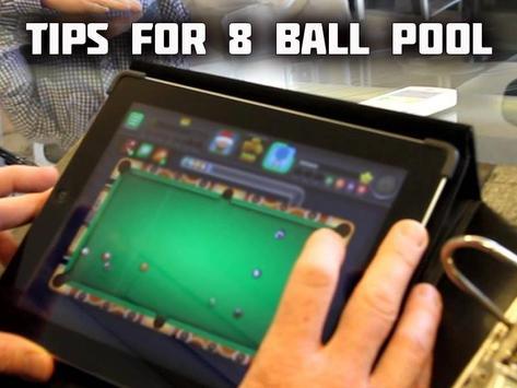 New Tips : 8 Ball Pool poster