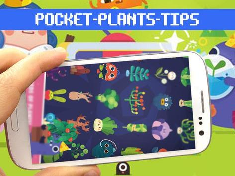guide : pocket plant poster