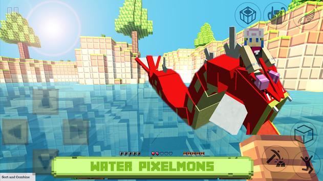 Craft Pixelmon: hunter exploration craft poster