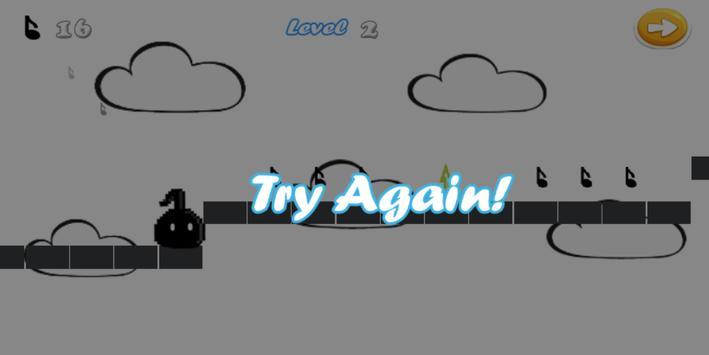Eighth Note Run apk screenshot