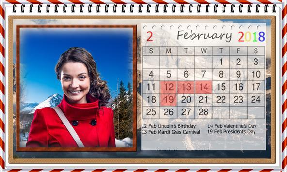 Calendar 2018 Photo Frames Wallpaper Hd For Android Apk