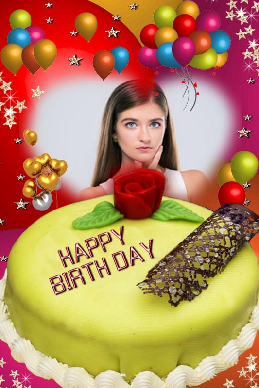 Happy Birthday Cake Photo Frame Decorate For Android Apk Download