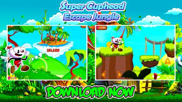 Super Cuphead Escape Jungle poster