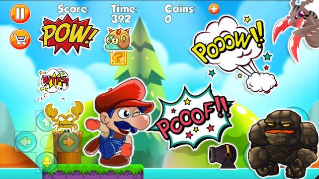 Super Jump Mario Run apk screenshot