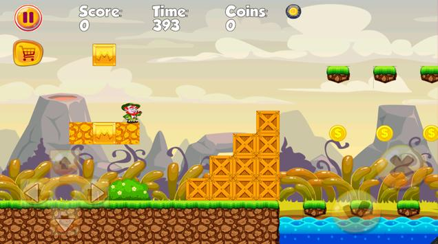 Leps Leprechaun Run Adventure apk screenshot