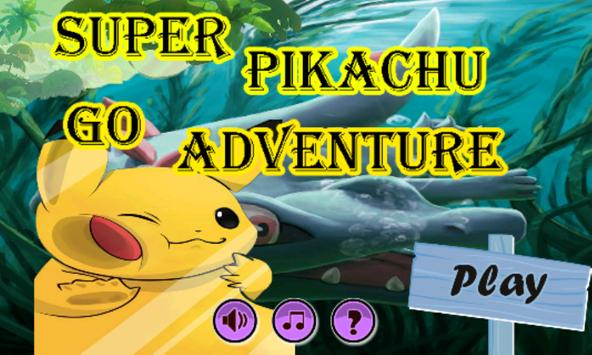 Super Pikachu Go Adventure poster
