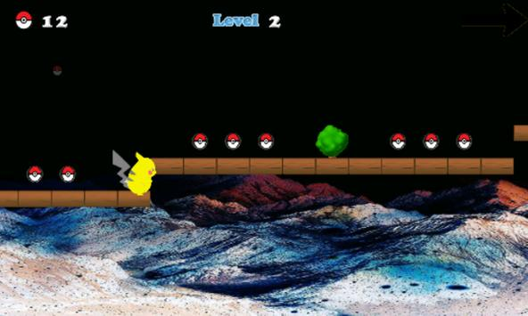Super Pikachu Go Adventure screenshot 2