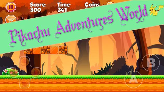 Pikachu Adventures World apk screenshot