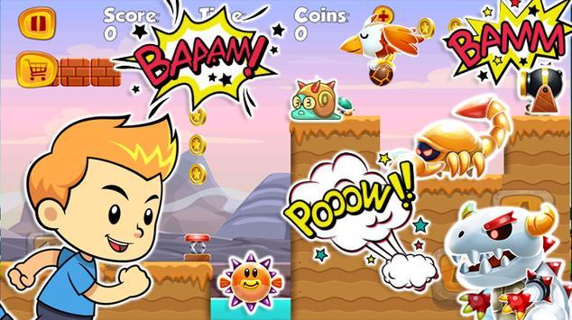 Super Smash Jump Run Shooter apk screenshot