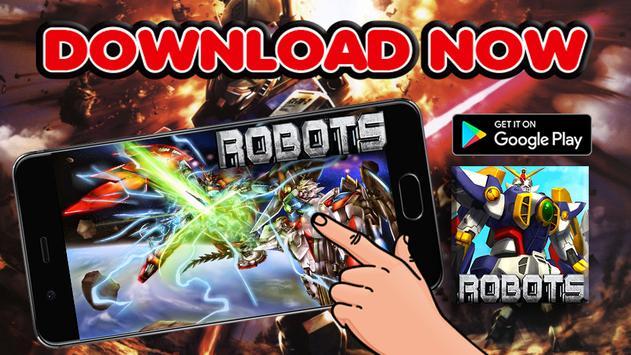 Super Robot X Transform War 2017 apk screenshot
