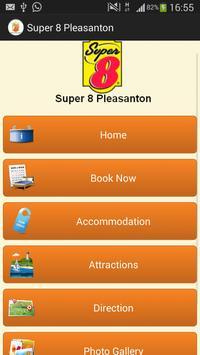 Super 8 Pleasanton poster