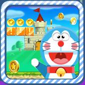 Super Doraemon Run in jungle Adventures icon