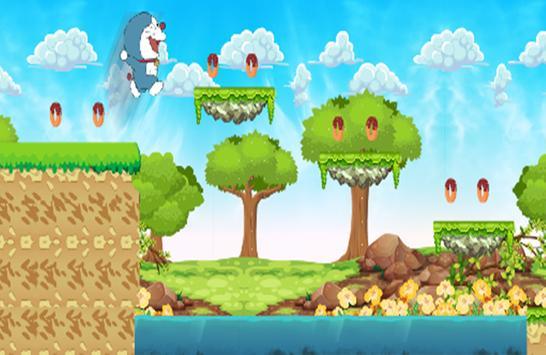 Super Doraemon Run in jungle Adventures screenshot 1
