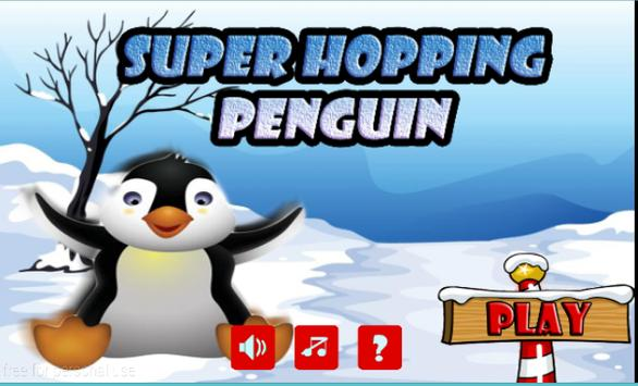 Super Hopping Penguin poster