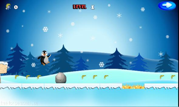 Super Hopping Penguin apk screenshot