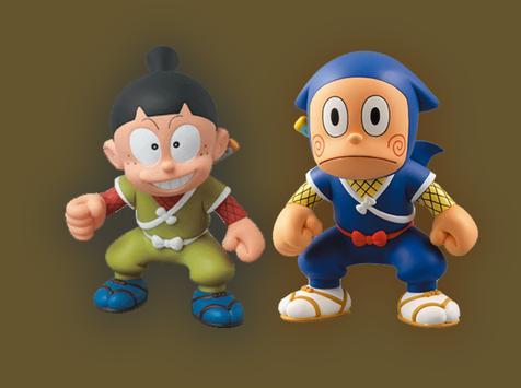 Super Ninja Hattori Jump Games screenshot 1