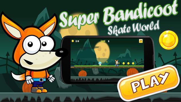 Super Bandicoot Skate World apk screenshot