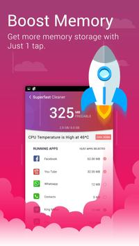 Super Fast Cleaner: Booster and Applock poster