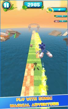 Super Sonic games : subway adventure of temple 3D screenshot 6