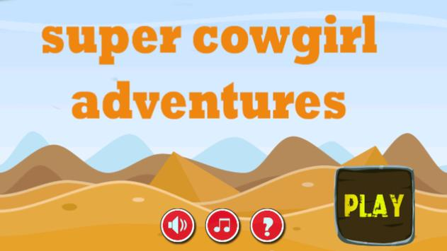 jungle adventure of super cowg poster