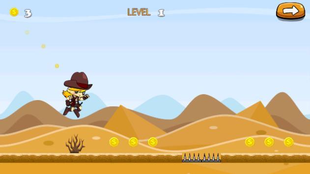 jungle adventure of super cowg apk screenshot