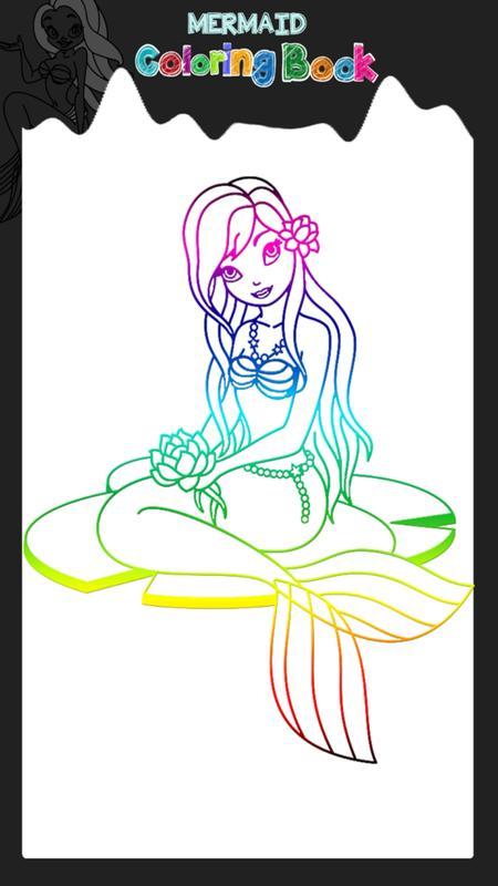 sirena para colorear for Android - APK Download