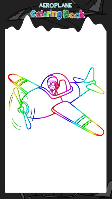 avión de libro para colorear for Android - APK Download