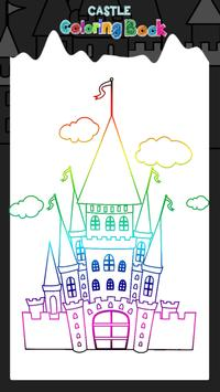 Castle Coloring Book poster