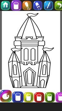 Castle Coloring Book screenshot 11
