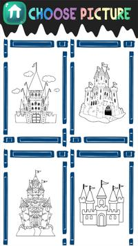 Castle Coloring Book screenshot 2