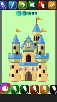 Castle Coloring Book screenshot 4