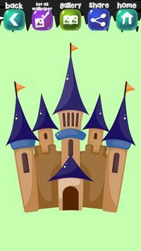 Castle Coloring Book screenshot 6