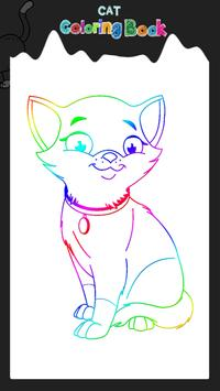 Cat Coloring Book poster