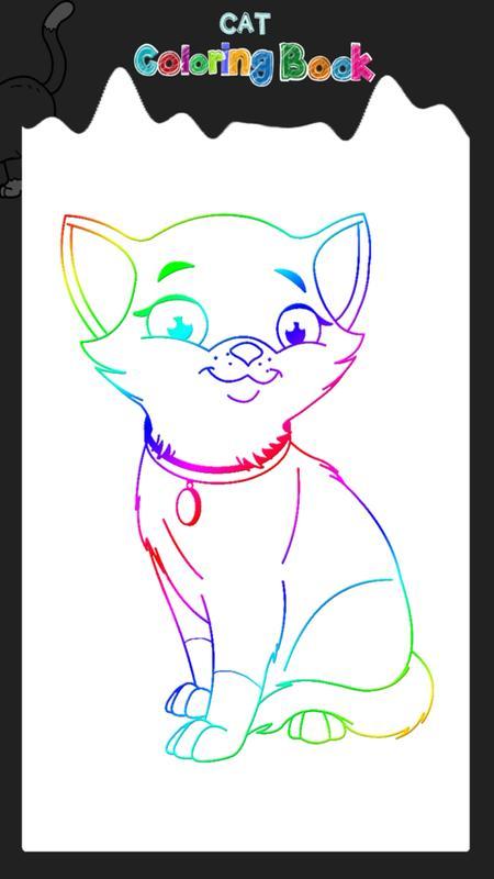Libro de colorear del gato Descarga APK - Gratis Entretenimiento ...
