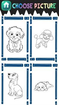 Dog Coloring Book apk screenshot