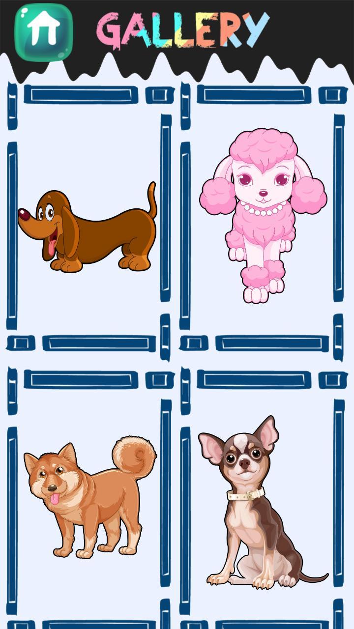 Android Için Köpek Boyama Kitabı Apkyı Indir