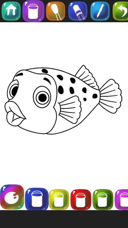 peces para colorear Descarga APK - Gratis Entretenimiento Aplicación ...