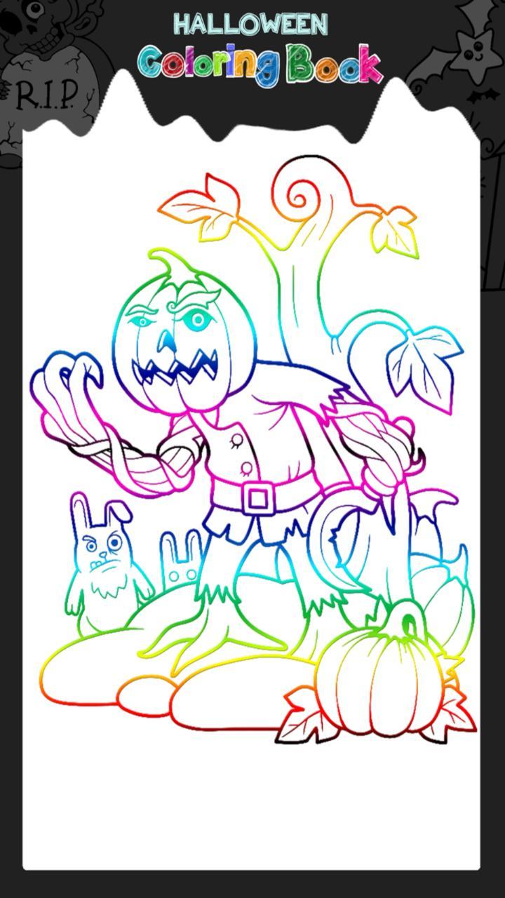 Mewarnai Buku Halloween For Android APK Download