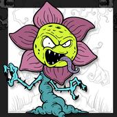 Horror Coloring Book icon