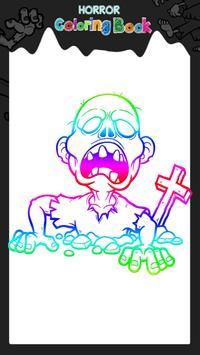 Horror Coloring Book apk screenshot